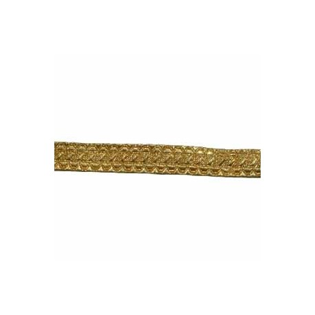 STAFF LACE - GOLD 5/8 INCH