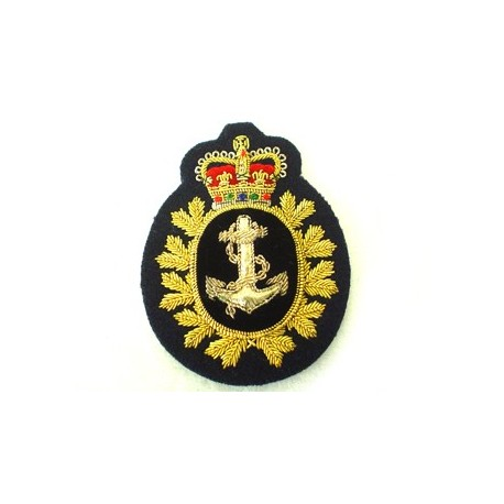 Canadian NAVY PETTY OFFICERS CAP BADGE