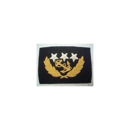 US Confederate Naval Captain's Cap Badge