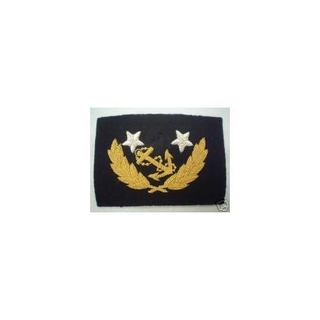 US Confederate Navy Commander's Cap Badge