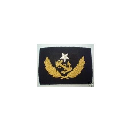 US Confederate Navy Lieutenant's Cap Badge