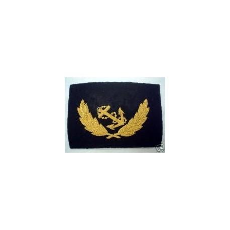 US Confederate Navy Master's Cap Badge