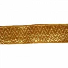 ARTILLERY LACE - GOLD ORRIS 1 INCH