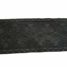 BLACK OAK LEAF LACE - 1 1/2 INCHES