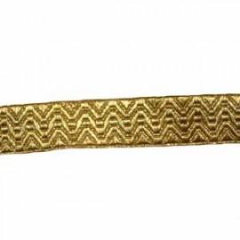 ARTILLERY LACE - GOLD ORRIS 3/4 INCH