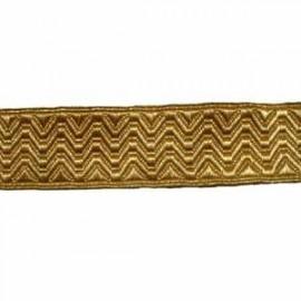 ARTILLERY LACE 1 1/2 INCH GOLD 2WM