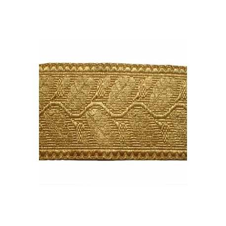 OAK LEAF - 2 W/M GOLD 2 1/2 INCHES