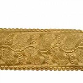 OAK LEAF - GOLD RAYON 2 INCHES