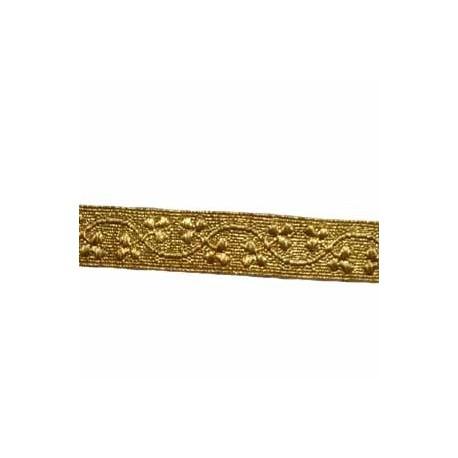 SHAMROCK LACE - 2 W/M GOLD 1/2 INCH