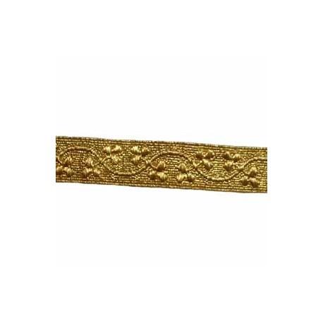 SHAMROCK LACE - 2 W/M GOLD 3/4 INCH