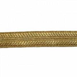 HERRING BONE SWORD KNOT LACE - MYLAR 3/4 INCH