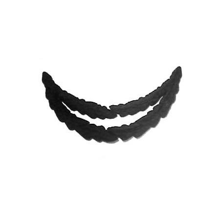 2 ROW BLACK OAK - LEAF PEAK EMB LONG