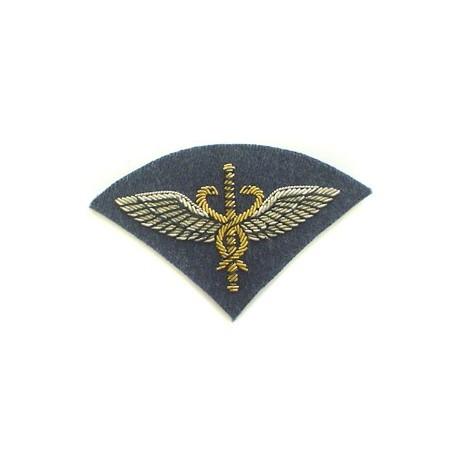 RAF FLIGHT MEDICAL OFFICER MESS ARM BADGE