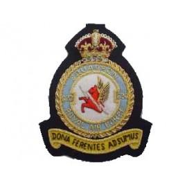620 ROYAL AIR FORCE SQUADRON BLAZER BADGE