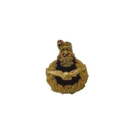RAF Air rank beret badge with king's crown