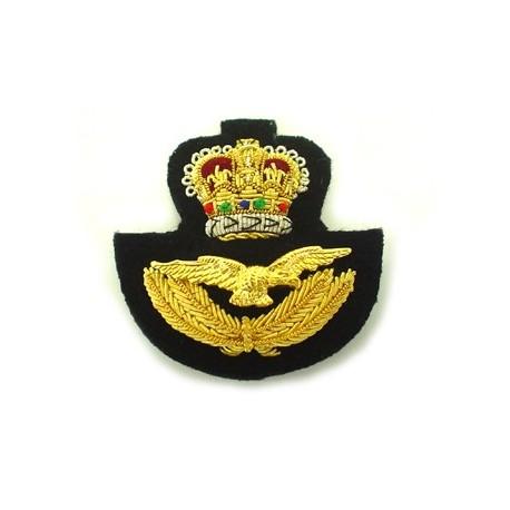 RAF BERET BADGE ON BLACK