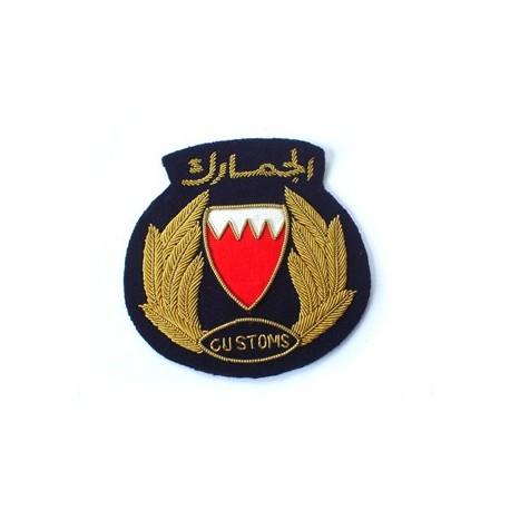 Bahrain Customs Cap Badge