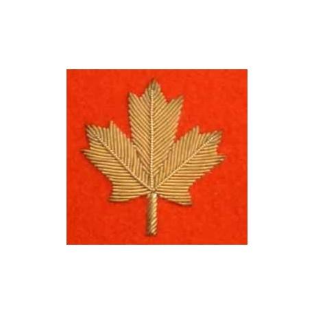 Canadian Maple Leaf Blazer Badge
