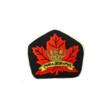 Canadian Navy Beret Badge