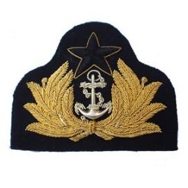 GHANA NAVY OFFICERS CAP BADGE