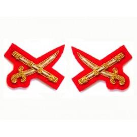 KENYAN ARMY CROSS SWORD AND BATON