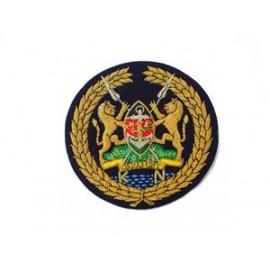 KENYAN NAVY WARRANT OFFICER1 CAP BADGE