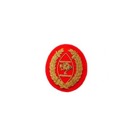 KENYAN WARRANT OFFICER DIVISION ARM BADGE (LARGER