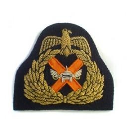 KUWAIT ARMY CAP BADGE ON BLACK