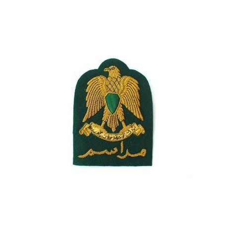 LIBYA ARAB PROTOCOL CAP BADGE