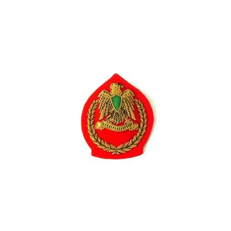 LIBYA JUNIOR OFFICERS CAP BADGE
