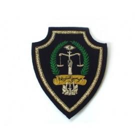 LIBYA POLICE MUSICIAN ARM BADGE