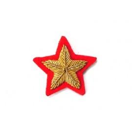 LIBYA RANK STAR ON RED MAROON OR GREEN