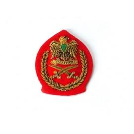 LIBYA SENIOR OFFICERS BERET BADGE