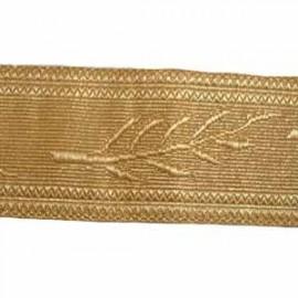 OMAN PALM LACE - 2 W/M GOLD 1 3/4
