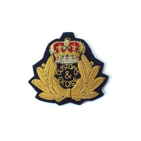 Trinidad and Tobago Customs and Excise Cap Badge