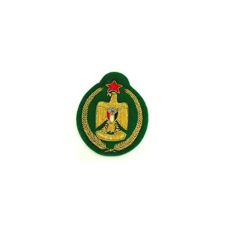 YEMEN SENIOR OFFICERS ARMY CAP BADGE