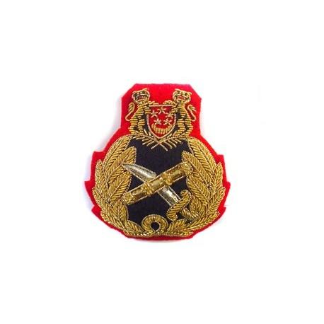 SINGAPORE GENERALS CAP BADGE