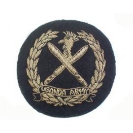 UGANDA ARMY CAP BADGE