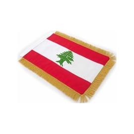 Table Sized Flag: Lebanon