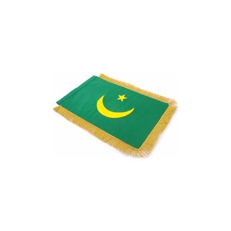 Table Sized Flag: Mauritiania