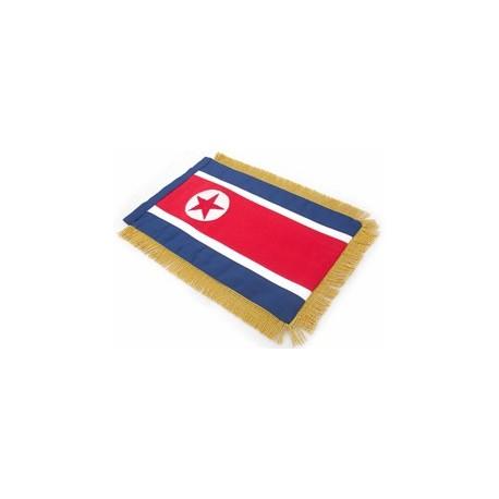 North Korea: Table Sized Flag