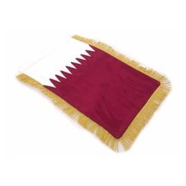 Qatar: Table Sized Flag