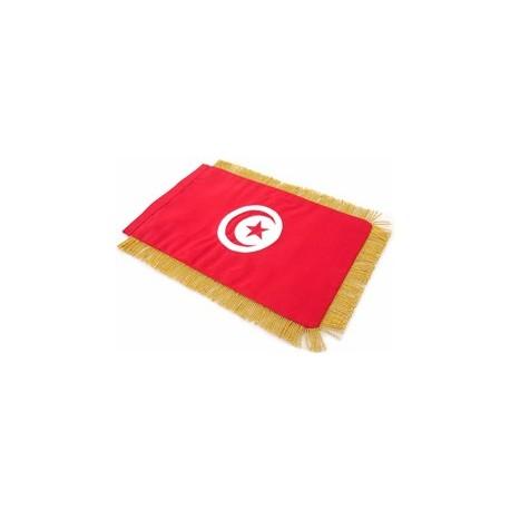 Table Sized Flag: Tunisia