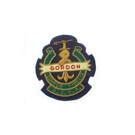 OLD GORDON BOYS ASSOCIATION BLAZER BADGE