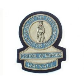 SISTER DORA SCHOOL OF NURSING BLAZER BADGE