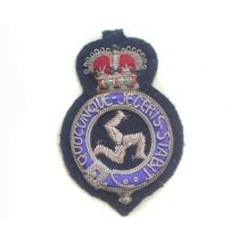 ISLE OF MAN POLICE CAP BADGE